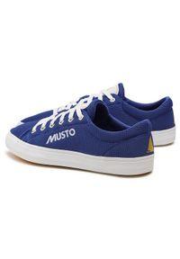 Musto Trampki Nautic Zephyr 82029 Niebieski. Kolor: niebieski #7
