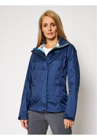 Niebieska kurtka przeciwdeszczowa Marmot