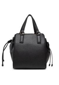 U.S. Polo Assn - Torebka U.S. POLO ASSN. - Brookshire Doub. Hand. Bag BEUBS5064WVP000 Black. Kolor: czarny. Materiał: skórzane
