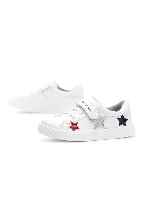 Sneakersy TOMMY HILFIGER z cholewką, w kolorowe wzory