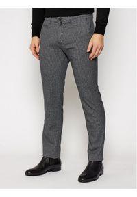 Pierre Cardin Spodnie materiałowe Lyon 33747/000/4793 Granatowy Modern Fit. Kolor: niebieski. Materiał: materiał