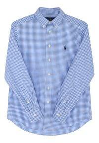Lauren Ralph Lauren Koszula Spring II 321785622 Niebieski Regular Fit. Kolor: niebieski