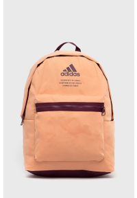 Adidas - Plecak. Kolor: pomarańczowy. Materiał: poliester