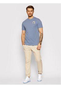 Only & Sons - ONLY & SONS T-Shirt Mikkel 22019089 Niebieski Regular Fit. Kolor: niebieski
