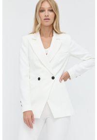 Morgan - Marynarka. Okazja: na co dzień. Kolor: biały. Materiał: tkanina. Wzór: gładki. Styl: klasyczny, casual