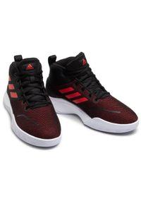 Adidas - Buty adidas - Ownthegame FY6008 Black. Kolor: czarny. Materiał: materiał