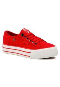 Big-Star - BIG STAR Tenisówki HH274053 Czerwony. Kolor: czerwony