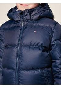 TOMMY HILFIGER - Tommy Hilfiger Kurtka puchowa KB0KB04934 D Granatowy Regular Fit. Kolor: niebieski. Materiał: puch