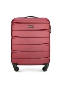 Czerwona walizka Wittchen biznesowa