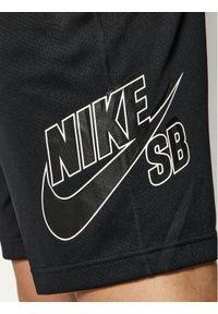 Czarne spodenki sportowe Nike