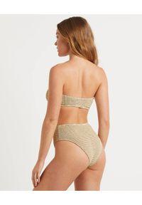 BOND-EYE AUSTRALIA - Top od bikini Sahara. Kolor: beżowy. Materiał: materiał