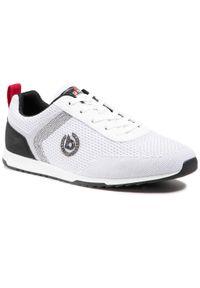 Bugatti - Sneakersy BUGATTI - 321-A3A05-6900-2000 White. Okazja: na co dzień. Kolor: biały. Materiał: skóra, materiał. Szerokość cholewki: normalna. Wzór: aplikacja. Styl: elegancki, sportowy, casual