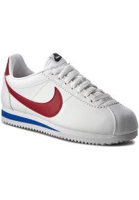 Białe półbuty Nike z cholewką