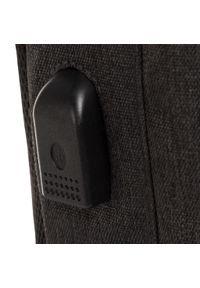 CATerpillar - Plecak CATERPILLAR - Universo 83730-369 Dark Grey/Black. Kolor: czarny, wielokolorowy, szary. Materiał: materiał