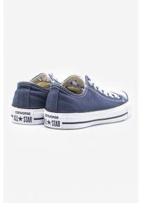 Converse - Tenisówki. Nosek buta: okrągły. Zapięcie: sznurówki. Kolor: niebieski. Materiał: guma
