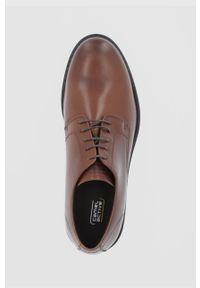 Camel Active - Półbuty skórzane. Nosek buta: okrągły. Zapięcie: sznurówki. Kolor: brązowy. Materiał: skóra