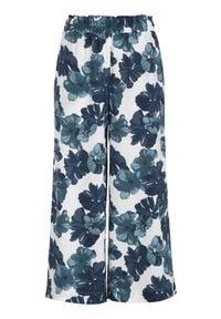 Cellbes Wzorzyste spodnie typu culotte niebieski we wzory female niebieski/ze wzorem 42/44. Kolor: niebieski. Materiał: wiskoza, włókno, guma, materiał. Styl: klasyczny