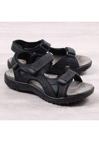 Czarne sandały McKeylor