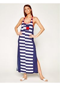 Niebieska sukienka letnia TOMMY HILFIGER