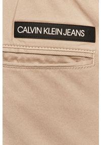 Spodnie Calvin Klein Jeans gładkie