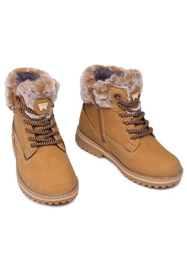 Brązowe śniegowce Wrangler