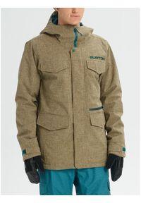 Zielona kurtka sportowa Burton snowboardowa