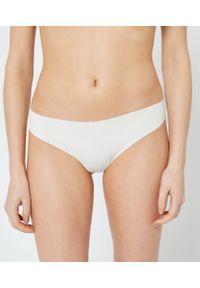 Confort Stringi Z Mikrofibry Niewidocznej Pod Ubraniem - Xl - Biały - Etam. Kolor: biały. Materiał: mikrofibra