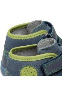 RenBut - Trzewiki RENBUT - 13-1423 Jeans Zielony. Kolor: niebieski. Materiał: skóra, zamsz. Sezon: zima, jesień #6