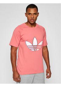 Różowy t-shirt Adidas