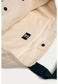 Kremowa torba Vans casualowa, z aplikacjami