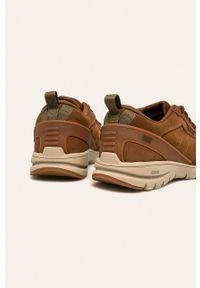 Sneakersy CATerpillar z okrągłym noskiem, na sznurówki, z cholewką