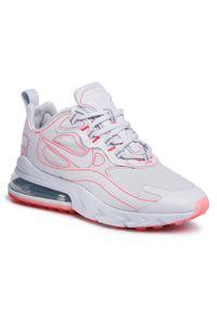 Szare buty sportowe Nike na co dzień, Nike Air Max, z cholewką