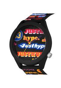 Czarny zegarek Hype