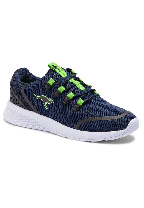 Niebieskie buty do fitnessu KangaRoos na co dzień, z cholewką