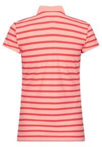 Pomarańczowa koszulka polo TOMMY HILFIGER polo