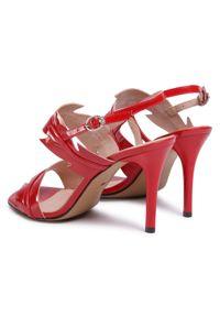 Czerwone sandały Ann Mex eleganckie