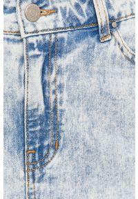 Niebieska spódnica Vila na co dzień, casualowa #5