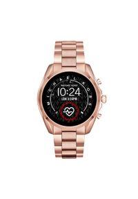 Złoty zegarek Michael Kors smartwatch