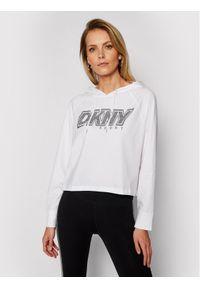 Biała bluza DKNY Sport sportowa