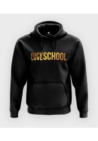 MegaKoszulki - Bluza z kapturem F Love School. Typ kołnierza: kaptur