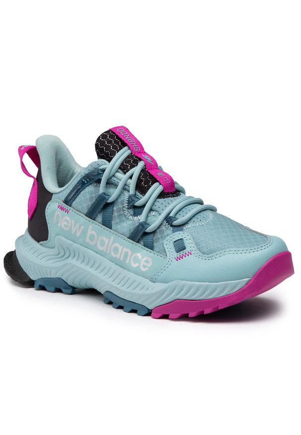 Niebieskie buty do biegania New Balance na co dzień, z cholewką
