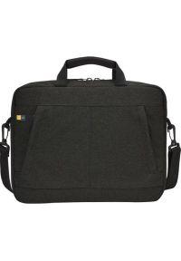 Czarna torba na laptopa CASE LOGIC w kolorowe wzory