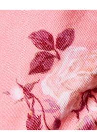 LOVE SHACK FANCY - Sukienka mini Minerva. Kolor: fioletowy, różowy, wielokolorowy. Materiał: sztruks. Wzór: kwiaty. Sezon: wiosna. Długość: mini