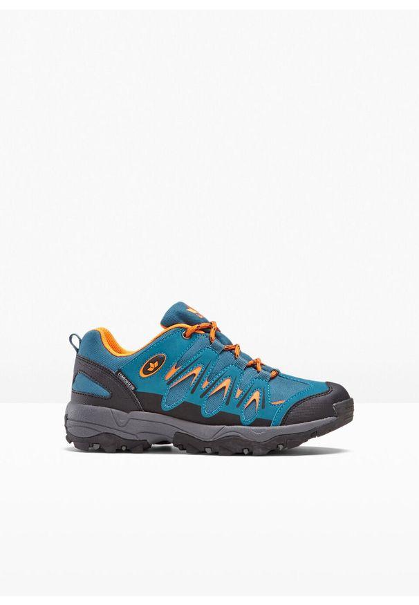 Niebieskie buty sportowe bonprix na spacer, trekkingowe
