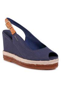 Niebieskie sandały GANT marine