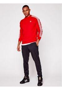 Adidas - adidas Bluza GN3484czer Czerwony Regular Fit. Kolor: czerwony