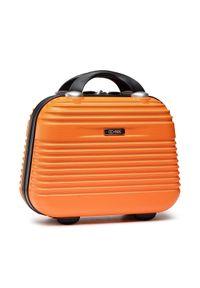 Ochnik Kuferek WALAB-0040-14 Pomarańczowy. Kolor: pomarańczowy