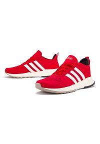 Sneakersy Adidas z paskami, z okrągłym noskiem