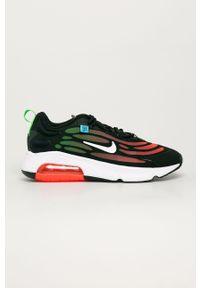 Czarne sneakersy Nike z cholewką, na sznurówki, Nike Air Max