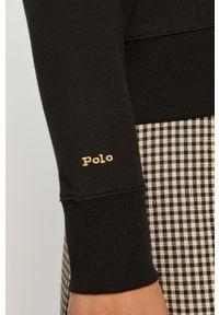 Czarna bluza Polo Ralph Lauren z długim rękawem, polo